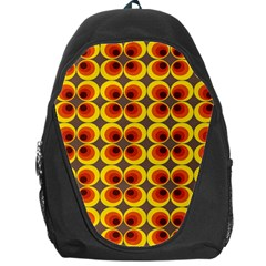 Seventies Hippie Psychedelic Circle Backpack Bag