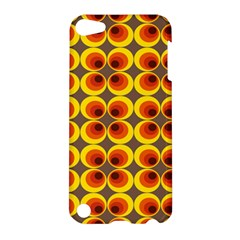 Seventies Hippie Psychedelic Circle Apple Ipod Touch 5 Hardshell Case by Nexatart