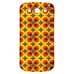 Seventies Hippie Psychedelic Circle Samsung Galaxy S3 S Iii Classic Hardshell Back Case
