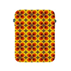Seventies Hippie Psychedelic Circle Apple Ipad 2/3/4 Protective Soft Cases