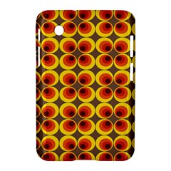Seventies Hippie Psychedelic Circle Samsung Galaxy Tab 2 (7 ) P3100 Hardshell Case  by Nexatart