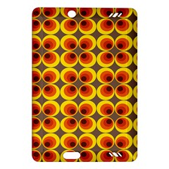 Seventies Hippie Psychedelic Circle Amazon Kindle Fire Hd (2013) Hardshell Case by Nexatart