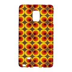 Seventies Hippie Psychedelic Circle Galaxy Note Edge