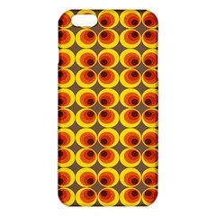 Seventies Hippie Psychedelic Circle Iphone 6 Plus/6s Plus Tpu Case by Nexatart