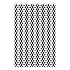 Diamond Black White Shape Abstract Shower Curtain 48  X 72  (small)  by Nexatart