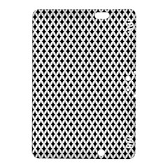 Diamond Black White Shape Abstract Kindle Fire Hdx 8 9  Hardshell Case