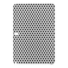 Diamond Black White Shape Abstract Samsung Galaxy Tab Pro 12 2 Hardshell Case
