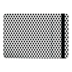 Diamond Black White Shape Abstract Samsung Galaxy Tab Pro 10 1  Flip Case