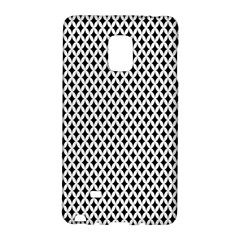 Diamond Black White Shape Abstract Galaxy Note Edge by Nexatart