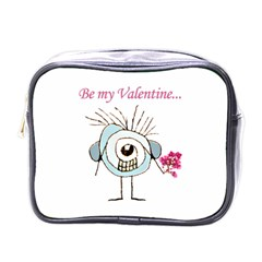 Valentine Day Poster Mini Toiletries Bags by dflcprints