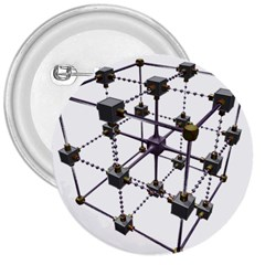 Grid Construction Structure Metal 3  Buttons by Nexatart