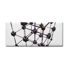 Grid Construction Structure Metal Cosmetic Storage Cases by Nexatart
