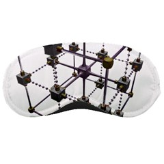 Grid Construction Structure Metal Sleeping Masks