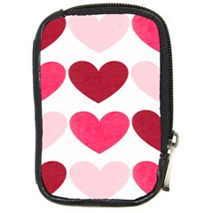 Valentine S Day Hearts Compact Camera Cases