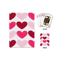 Valentine S Day Hearts Playing Cards (mini)