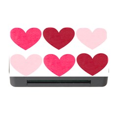 Valentine S Day Hearts Memory Card Reader With Cf