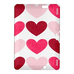 Valentine S Day Hearts Kindle Fire HDX 8.9  Hardshell Case by Nexatart