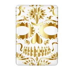 Sugar Skull Bones Calavera Ornate Samsung Galaxy Tab 2 (10 1 ) P5100 Hardshell Case