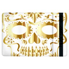 Sugar Skull Bones Calavera Ornate Ipad Air Flip