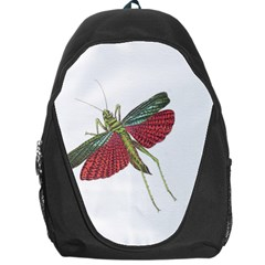 Grasshopper Insect Animal Isolated Backpack Bag