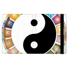 Yin Yang Eastern Asian Philosophy Apple Ipad 2 Flip Case