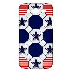 Patriotic Symbolic Red White Blue Samsung Galaxy Mega 5 8 I9152 Hardshell Case