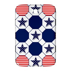 Patriotic Symbolic Red White Blue Samsung Galaxy Note 8 0 N5100 Hardshell Case