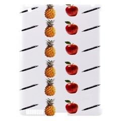 Ppap Pen Pineapple Apple Pen Apple Ipad 3/4 Hardshell Case (compatible With Smart Cover)