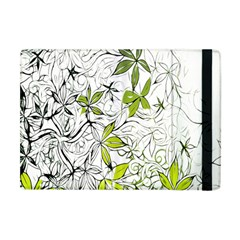 Floral Pattern Background Apple Ipad Mini Flip Case by Nexatart