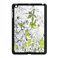 Floral Pattern Background Apple Ipad Mini Case (black) by Nexatart