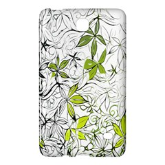 Floral Pattern Background Samsung Galaxy Tab 4 (7 ) Hardshell Case  by Nexatart