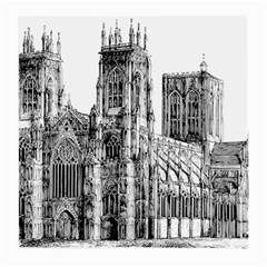 York Cathedral Vector Clipart Medium Glasses Cloth (2 Side)