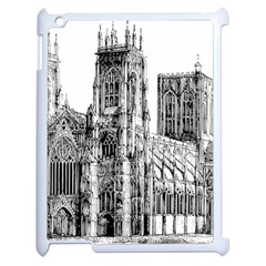 York Cathedral Vector Clipart Apple Ipad 2 Case (white)
