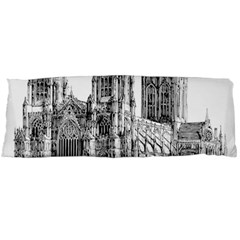 York Cathedral Vector Clipart Body Pillow Case Dakimakura (two Sides)