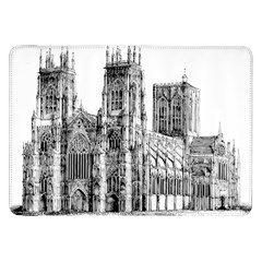 York Cathedral Vector Clipart Samsung Galaxy Tab 8 9  P7300 Flip Case