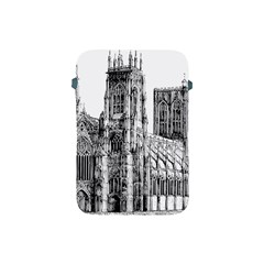 York Cathedral Vector Clipart Apple Ipad Mini Protective Soft Cases