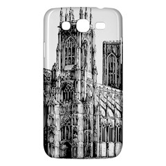 York Cathedral Vector Clipart Samsung Galaxy Mega 5 8 I9152 Hardshell Case