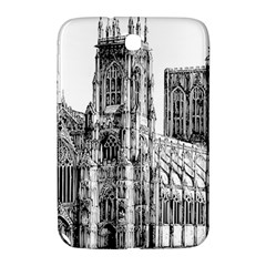 York Cathedral Vector Clipart Samsung Galaxy Note 8 0 N5100 Hardshell Case