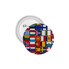 Europe Flag Star Button Blue 1 75  Buttons