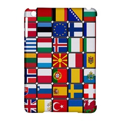 Europe Flag Star Button Blue Apple Ipad Mini Hardshell Case (compatible With Smart Cover)