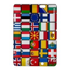 Europe Flag Star Button Blue Kindle Fire Hdx 8 9  Hardshell Case