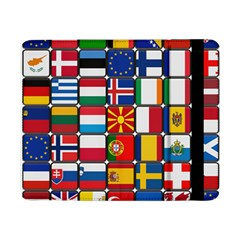 Europe Flag Star Button Blue Samsung Galaxy Tab Pro 8 4  Flip Case