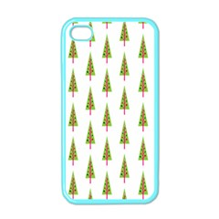 Christmas Tree Apple iPhone 4 Case (Color)