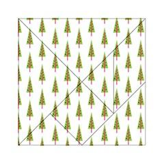 Christmas Tree Acrylic Tangram Puzzle (6  X 6 )