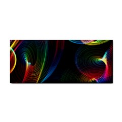 Abstract Rainbow Twirls Cosmetic Storage Cases