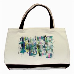 Background Color Circle Pattern Basic Tote Bag by Nexatart