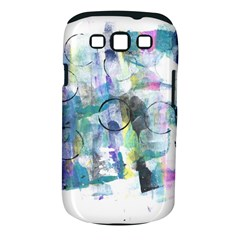 Background Color Circle Pattern Samsung Galaxy S Iii Classic Hardshell Case (pc+silicone)