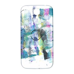 Background Color Circle Pattern Samsung Galaxy S4 I9500/i9505  Hardshell Back Case by Nexatart