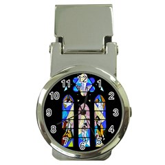 Art Church Window Money Clip Watches
