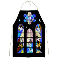 Art Church Window Full Print Aprons